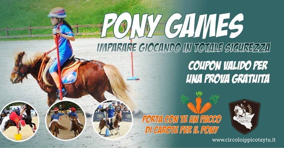 Coupon prova gratuita pony Games